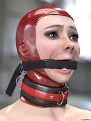Gagged by LapinDeFer