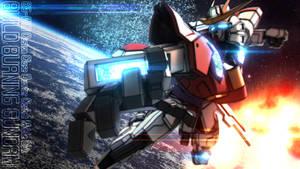 BG-011B Build Burning Gundam Wallpaper