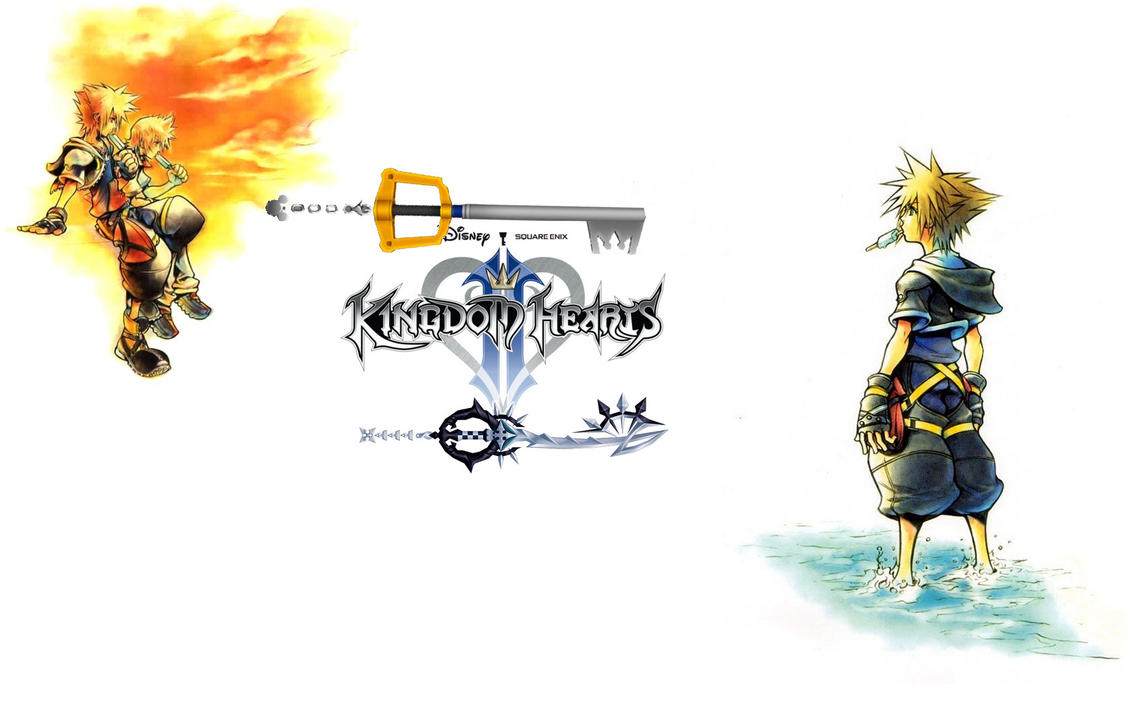 Sora And Roxas Wallpaper By Roxas1919 On DeviantART