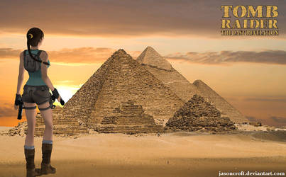 XNALara - Tomb Raider IV Egypt by JasonCroft