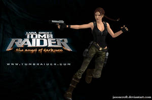 XNALara - Tomb Raider Angel of Darkness render by JasonCroft