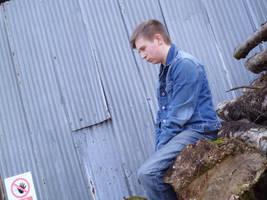 AOD Jacket and Jeans - Side shot 1 by JasonCroft