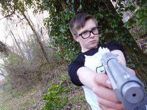Alex Weiss Cosplay - Gun shot 2