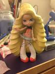 Custom Monster High Doll: SeeU (wip) by ClockWorkMegrim