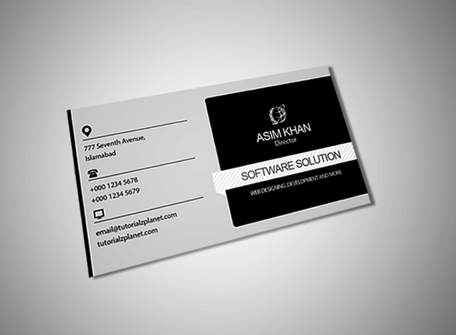 Professional Business Card PSD Free by tutorialzplanet on DeviantArt