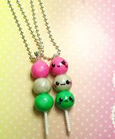 dango pendants by xlilbabydragonx