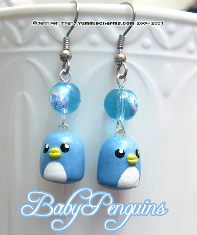 Baby Blue Penguins by xlilbabydragonx