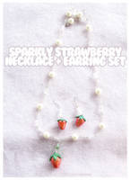 Sparkly Strawberry Jewelry