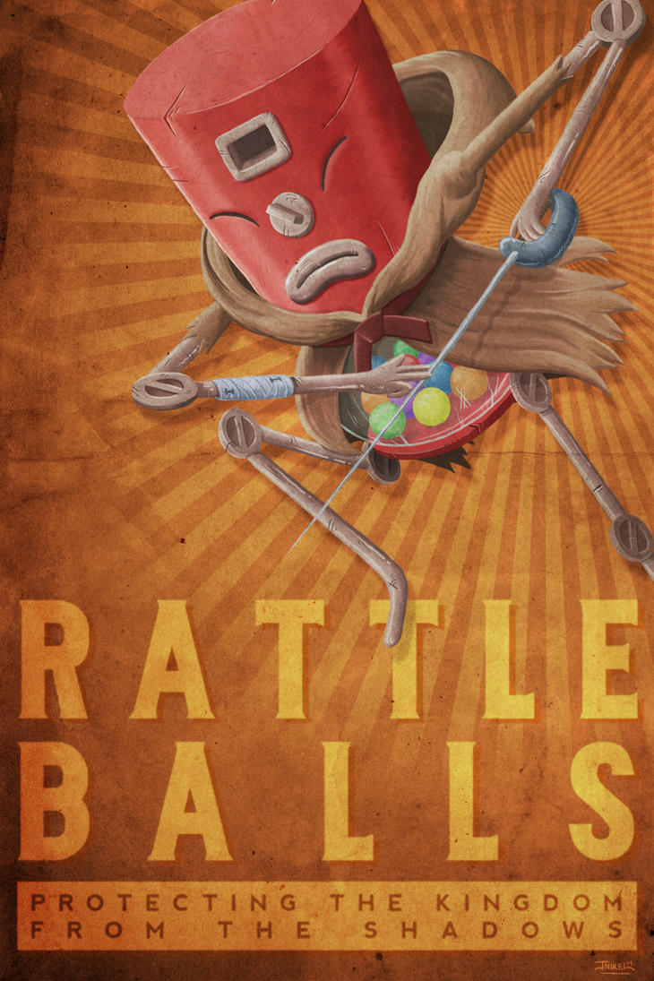 RATTLE BALLS by JNIKEL
