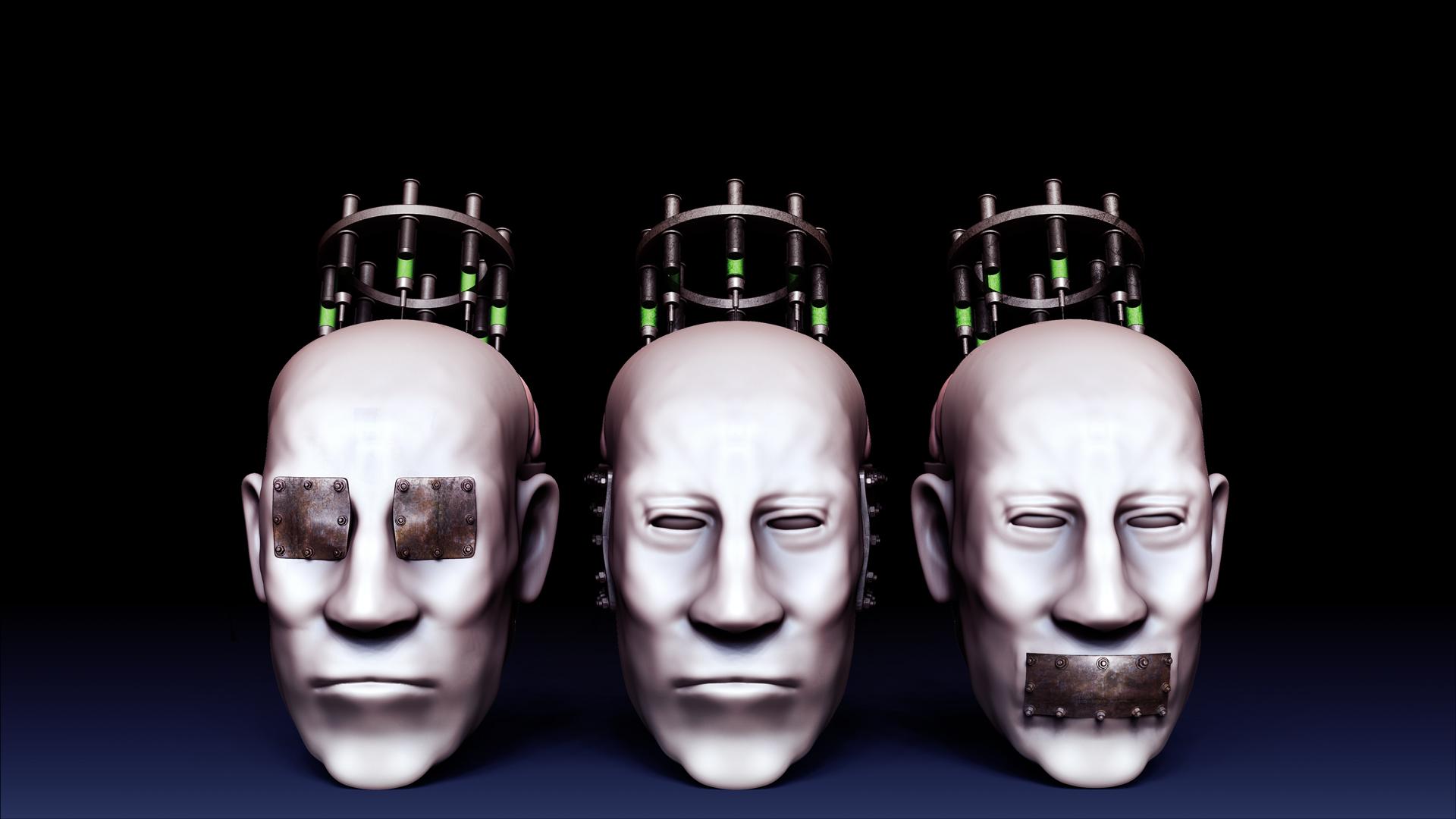 See no evil, Hear no evil, Speak no evil by Simulacrumble on DeviantArt
