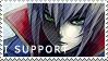 Jin Kisaragi Stamp