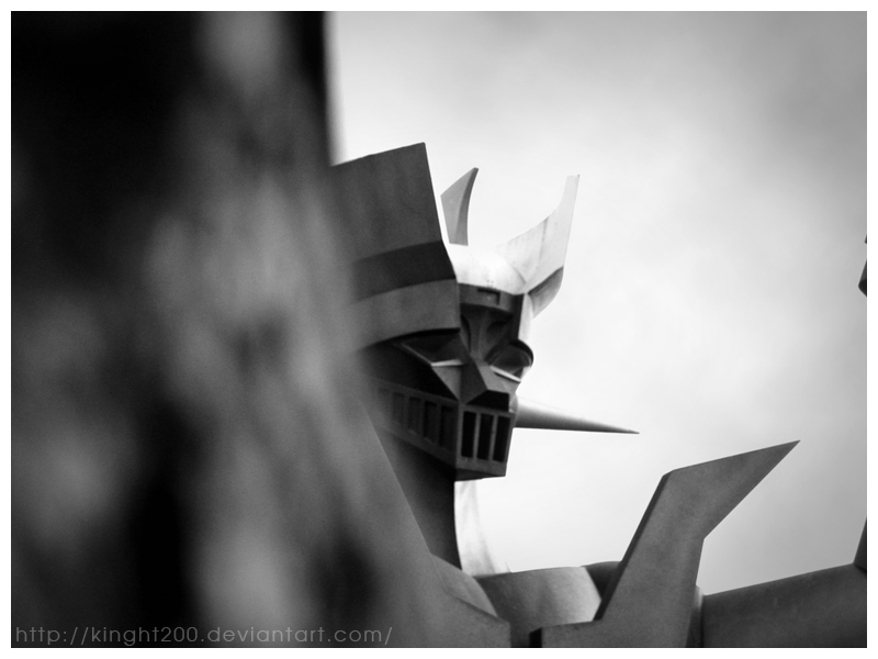 Mazinger by Kinght200