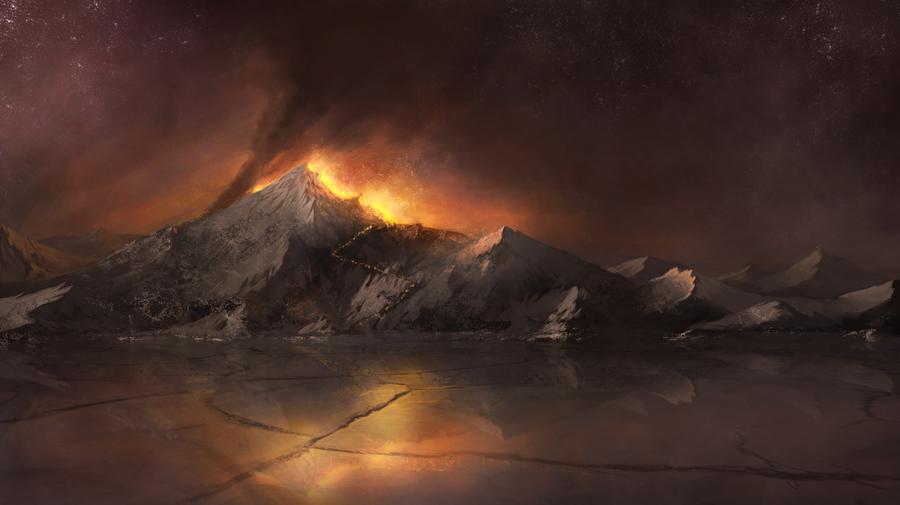 Village Fire Concept by ~XBlitzCraigX