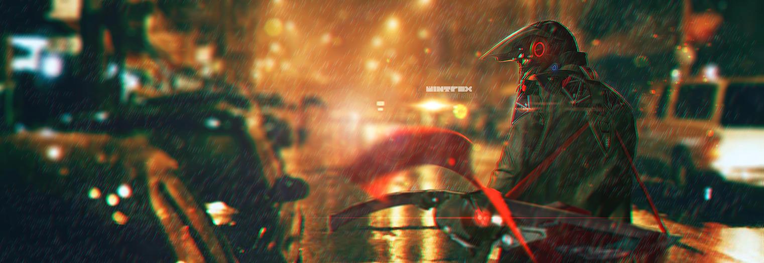 Rain ....... by Wintfox