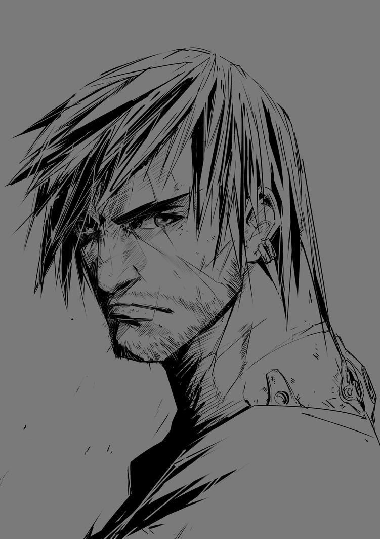 Line Sketch by Wintfox