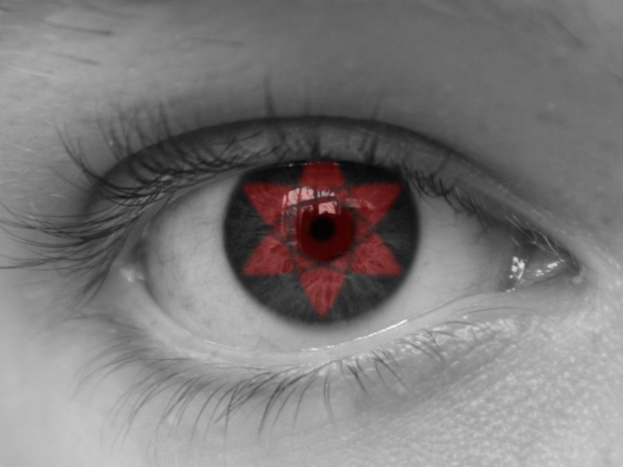 Real Sharingan Eye Contacts Sharingan eye in real life by