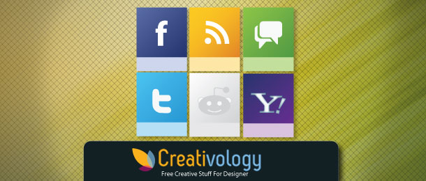 Free Vector Social Media Icon by Creativologypk
