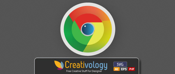 Free Vector Cute Google Chrome Icon by Creativologypk