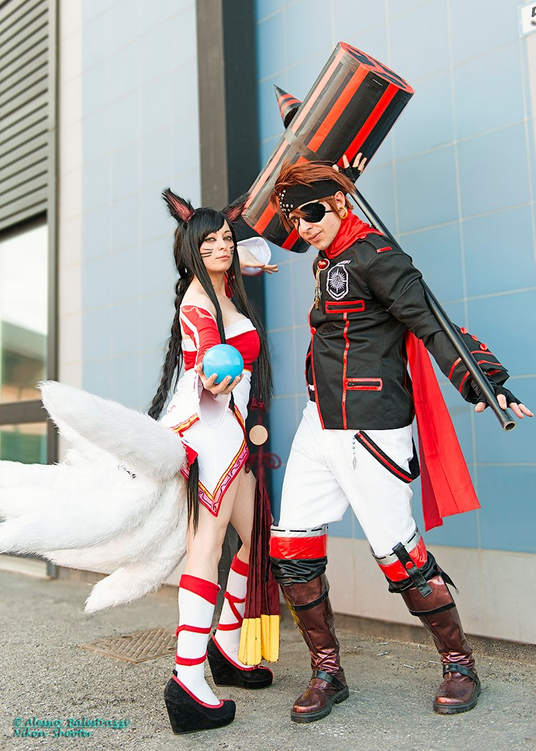Ahri cosplay - League Of Legends (LoL) ~8 by LyoeItsumi on ... Ahri League Of Legends Cosplay