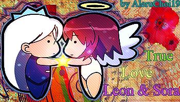 Leon_and_Sora by AleruChoi19