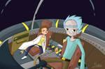 Rick and Morty - Asleep by RobinKeys
