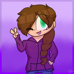 Girl Redraw by puppylover17YT45