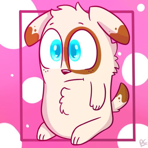 Potato Dog Redraw by puppylover17YT45