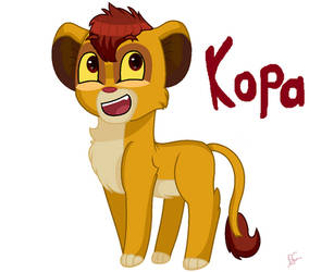 Kopa from  the lion king by puppylover17YT45