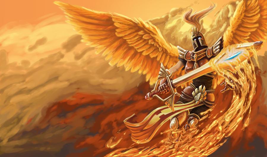 Phoenix Kayle by HawkShock
