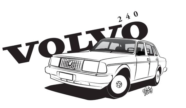 Volvo 240 by efish
