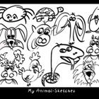 My animal-sketches by efish