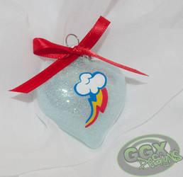 Rainbow Dash Ornament by GmrGirlX