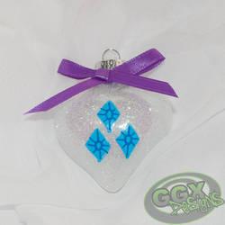 Rarity Ornament by GmrGirlX