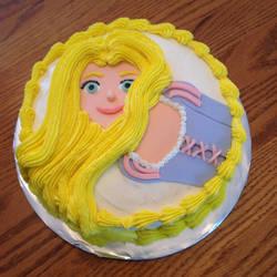 Rapunzel Cake by GmrGirlX