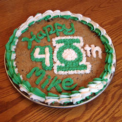 Green Lantern Cake by GmrGirlX