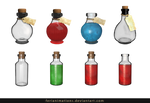 Potion stock by FeriAnimations