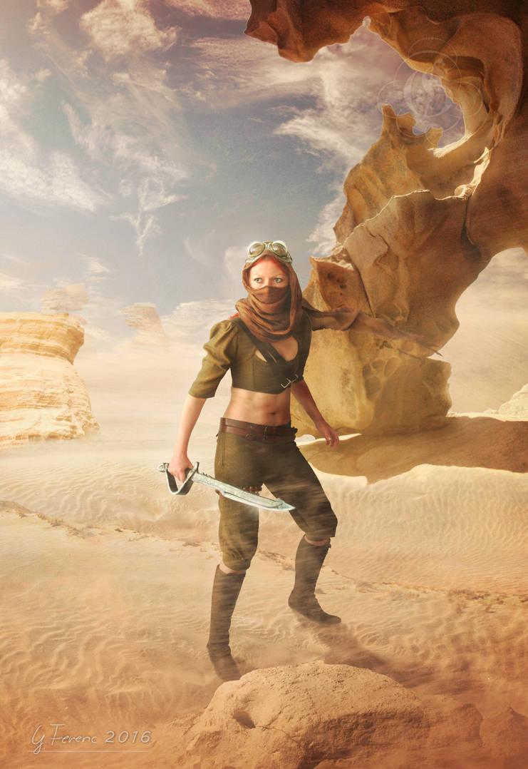 Desert warrior by FeriAnimations