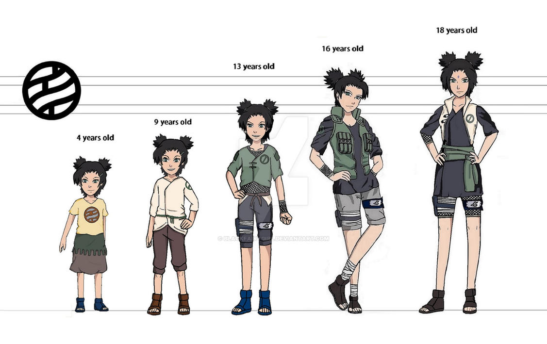 Shikako Nara Timeline By BlackFairygirl