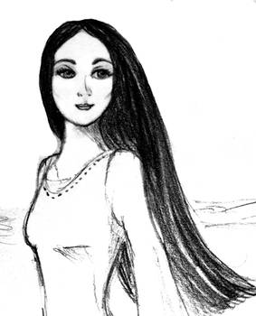 Finduilas of Dol Amroth sketch