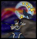 the wolf warrior and the moon