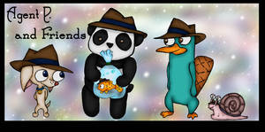 Agent P, and Friends colored