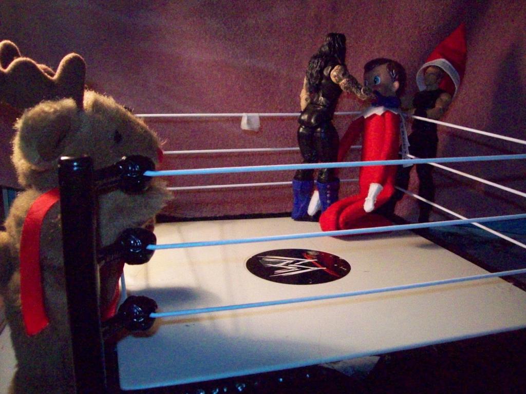 Christmas Tag team Match by Fallonkyra