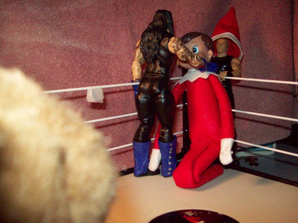 Christmas Tag team Match 2 by Fallonkyra