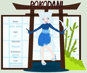 Yuki Aiko...Pokodani...App by PrincessLunarWolf