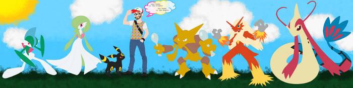 Mr Atheist's Pokemon by PrincessLunarWolf