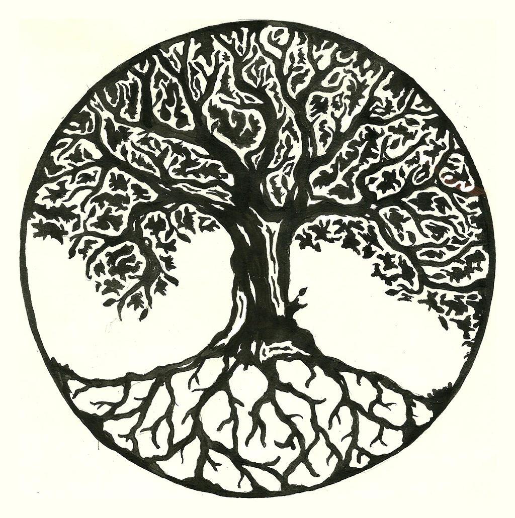 Tree Tattoo Designs, Celtic Tree