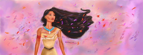 Pocahontas Colours of the Wind by MoonwalkingSiren