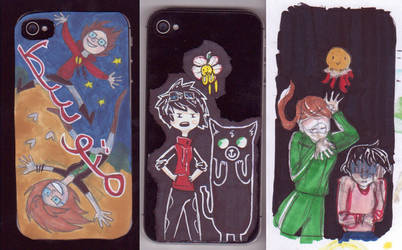 Phone Cases by Cirque-des-Contes