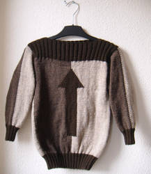 This Side Up sweater, age 5-7