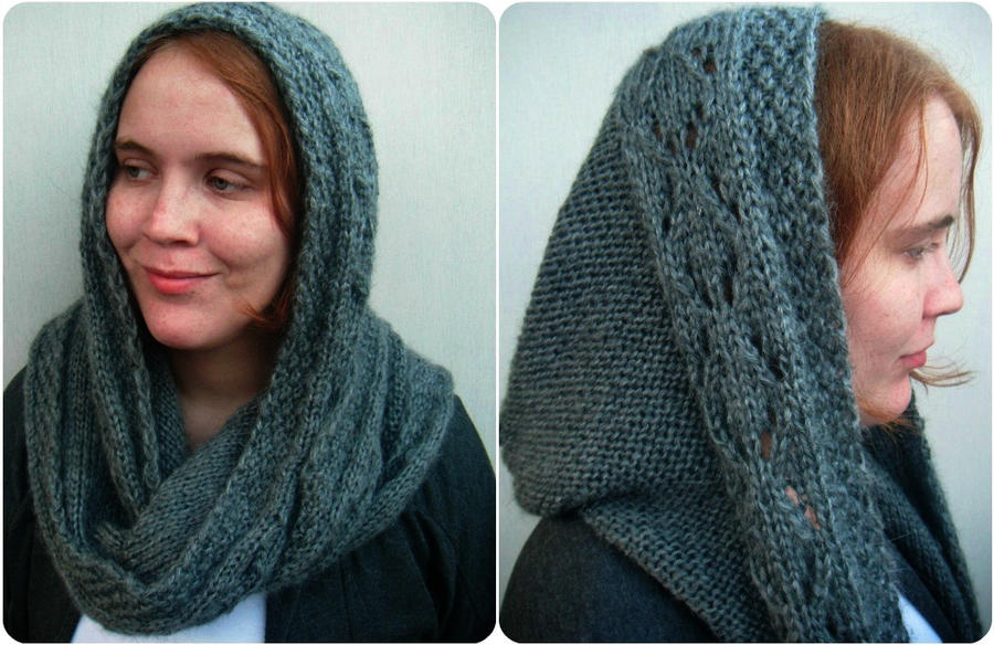 Scoodie Hooded Scarf Ooak By Polclary On Deviantart